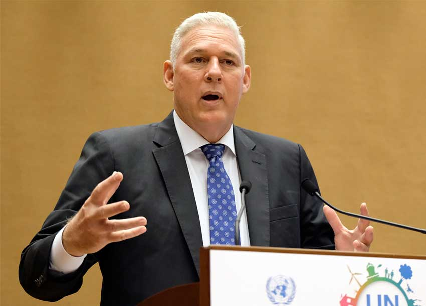 Image: Prime Minister Chastanet puts Bahamas Crisis on Priority at UN Trade Forum