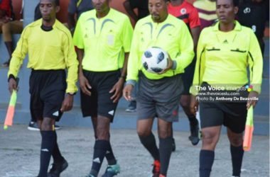Image of SLFA Officials. (Photo: Anthony De Beauville)
