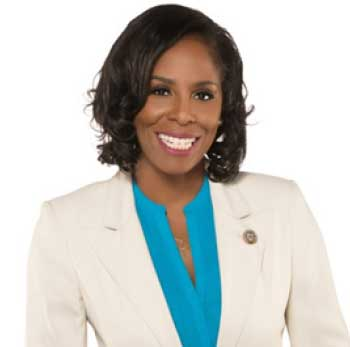 Image of Lead keynote speaker Stacey E. Plaskett.