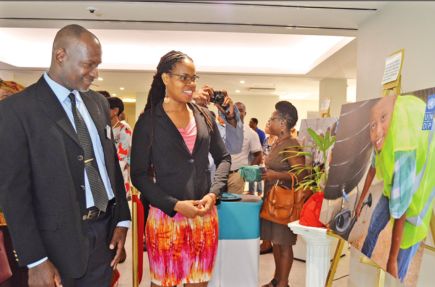 Image: The UNDP Project has ended its knowledge sharing tour in Saint Lucia and opened a multi-media gallery displaying accomplishments.
