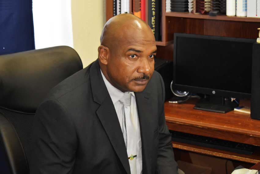 Image of Assistant Commissioner of Police with Responsibility for Crime and Intelligence Management, Wayne Charlery.