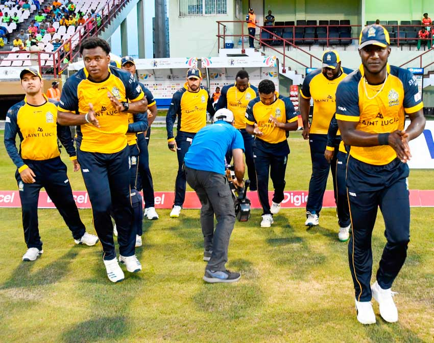 Image: Zouks all set to take on Tallawahs. (Photo: CPL)