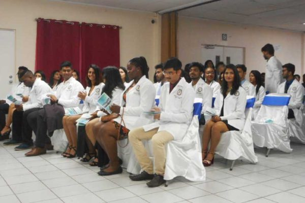 Image of the outgoing students of Spartan Health.