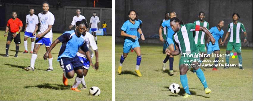 Image: (L-R)Some of action between Central Castries and Mabouya Valley and Vieux Fort South and Desruisseaux.  (Photo: Anthony De Beauville)