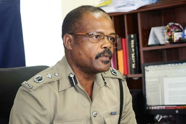 Image of Assistant Commissioner of Police George Nicholas.