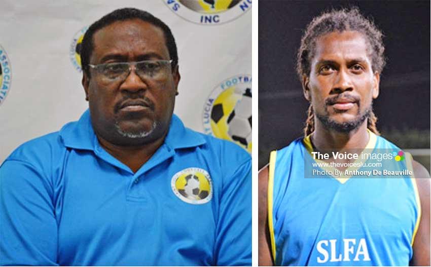 Image: (L-R) Jamaal Shabazz – Head Coach; Zaine Pierre – Captain. (Photo: Anthony De Beauville)