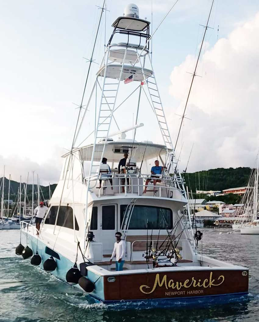 Image of The 74ft Viking Sports Fisherman Yacht, Maverick.