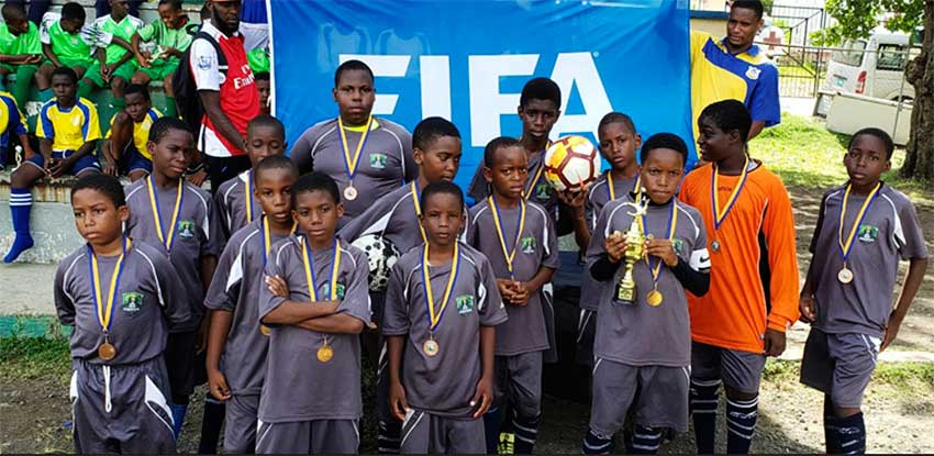 Image: Monchy Primary School finished in second place. (PHOTO: CD)