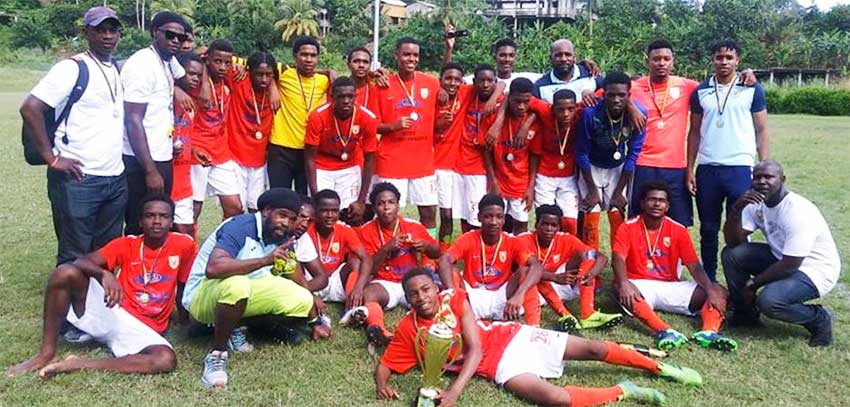 Image: Victory Eagles SLFA 2019 U17 football champions.(PHOTO: SLFA)