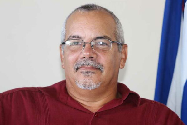 Image of Cuba's ambassador to Saint Lucia Alejandro Simancas Marin.