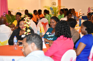 Image: Attendants of the 4th Annual Entrepreneurs Speed Networking Forum at Sandals Halcyon