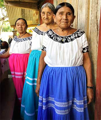 Image: The Fahina project will provide a source of economic empowerment to Mayan women, innovating new  designed, developing culturally appropriate branding.