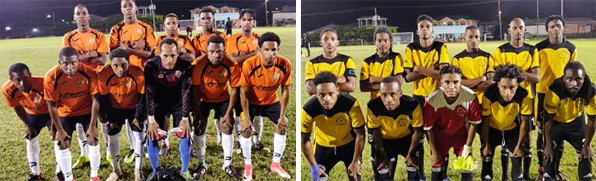 Image: (L-R) GMC United defeated Northern United 4-2. (PHOTO: GIFL)