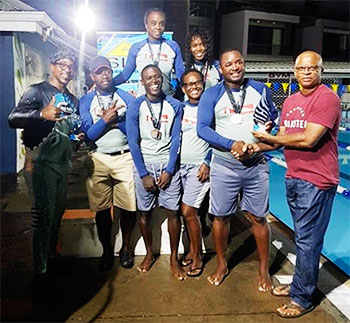 Image of Team Sandals 2019 champions. (PHOTO: SLAF)