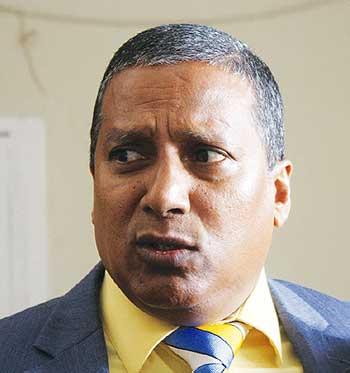 Image of Transport Minister Guy Joseph.