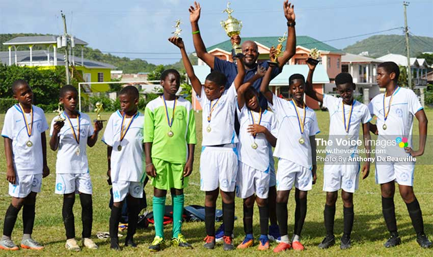 Image: 2019 champions Northern United All Stars celebrate. (PHOTO: Anthony De Beauville)