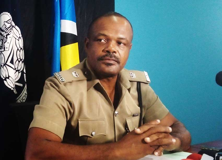 Image of George Nicholas, Superintendent in charge of Crime Management