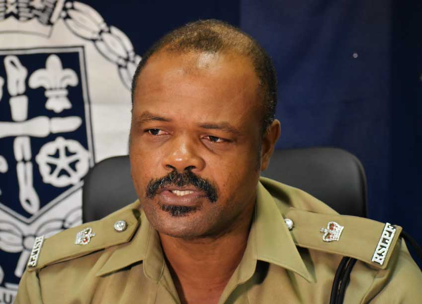 Image of George Nicholas, Superintendent of Police with Responsibility for Territorial Policing says local police are concerned about Saint Lucia's high homicide count.