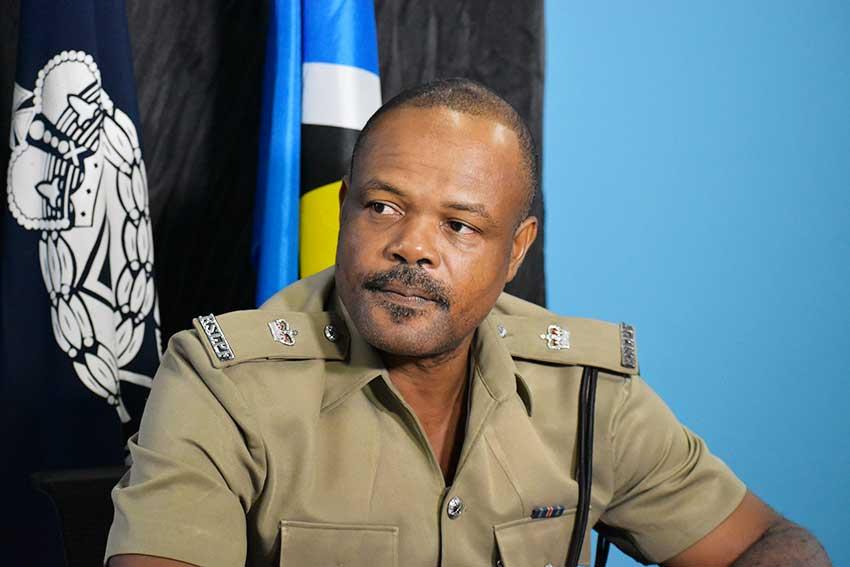 Image of George Nicholas, Superintendent of Police.