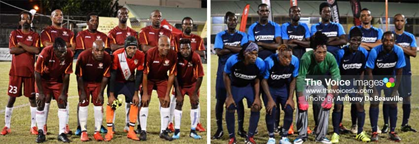 Image: (L-R) Gros Islet and Marchand played unbeaten. (PHOTO: Anthony De Beauville)