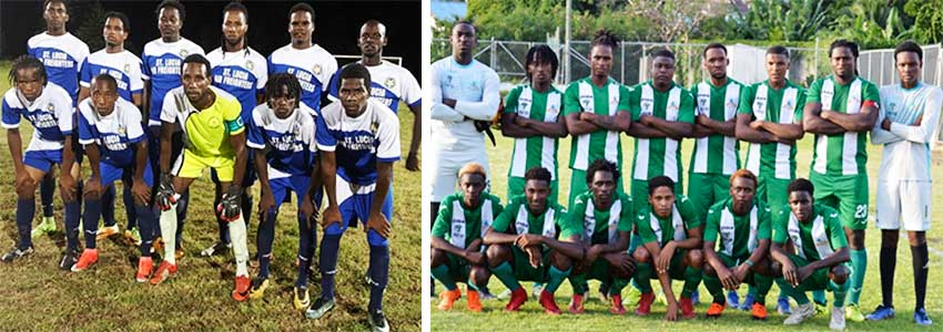 Image: (L-R) Gros Islet and Vieux Fort South will meet in the grand finals on Sunday 21st December 2019. (PHOTO: Anthony De Beauville/SM).