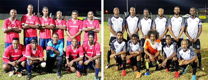 Image: (L-R) Mon Repos all set to  play Flow Lancers FC; All Blacks – Dennery highly favoured to win Vieux Fort South. (PHOTO: VISI)