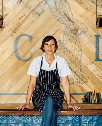 Image of Chef Nina Compton, sister of Jeannine Compton-Antoine.