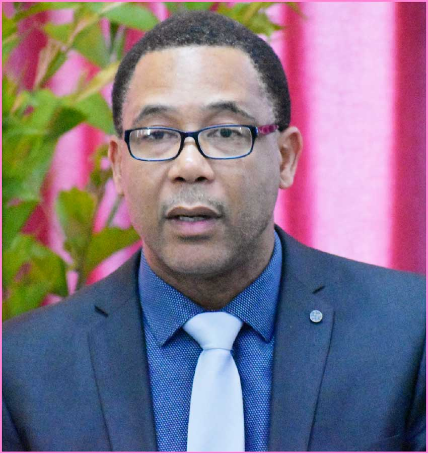 Image: Medford Francis, Deputy Managing Director for Lending and Investments at BOSL.