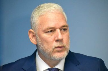 Image: Prime Minister Allen Chastanet has promised an announcement soon about changes intended to strengthen the police force and bring crime under control.