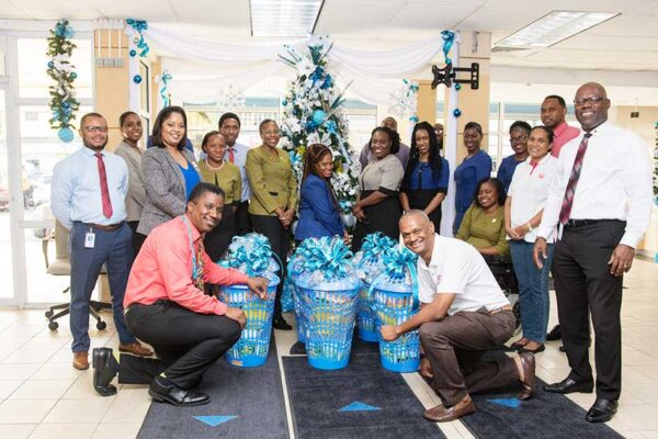 Image of Republic Bank Hamper Presentation to the Salvation Army