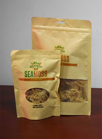 Image of Saint Lucia's Sun-dried Sea moss.