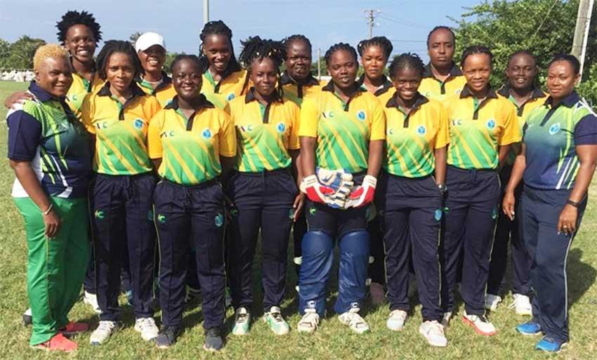 Image: Defending champions Saint Vincent and the Grenadines. (PHOTO: SA)