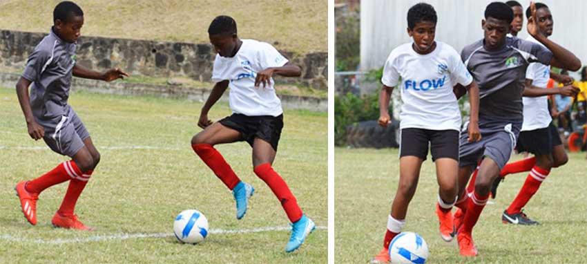 Image: Flow Lancers FC versus New Generation FC. (PHOTO: Anthony De Beauville)