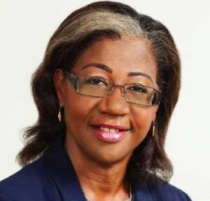 Image of Health Minister Mary Isaacs.