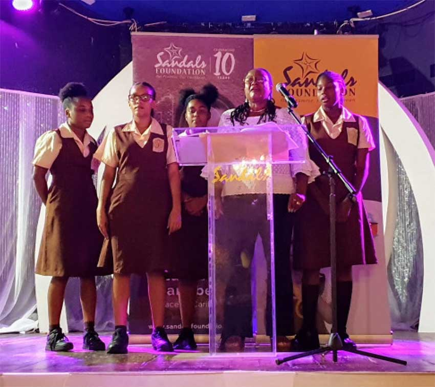 Image of Students from Choiseul.