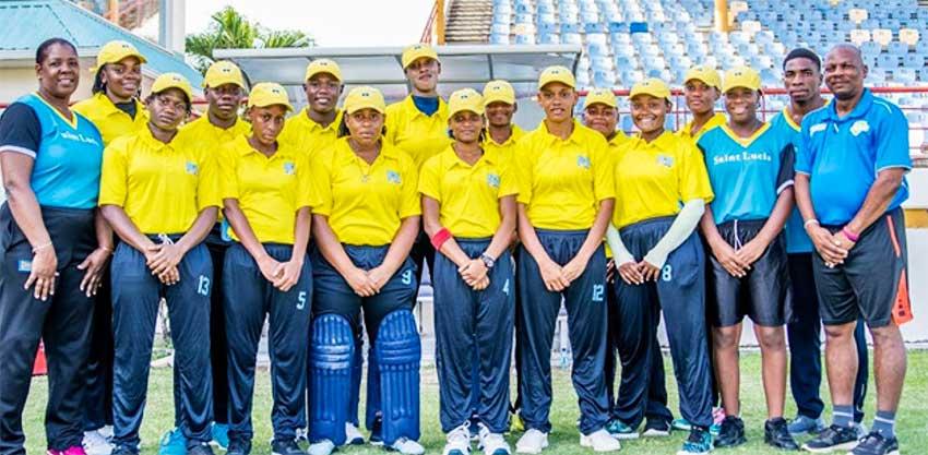 Image: Team Saint Lucia. (PHOTO: SA)