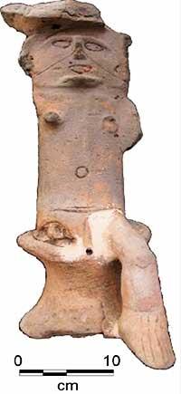Image: Artifact found at Cas en Bas (1963).Source:  Authors
