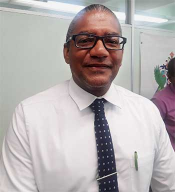 Image of Bradley Felix, Minister for Commerce, International Trade and Consumer Affairs