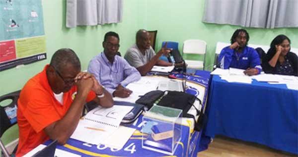 Image: SLFA staff during training workshop. (PHOTO: SLFA)