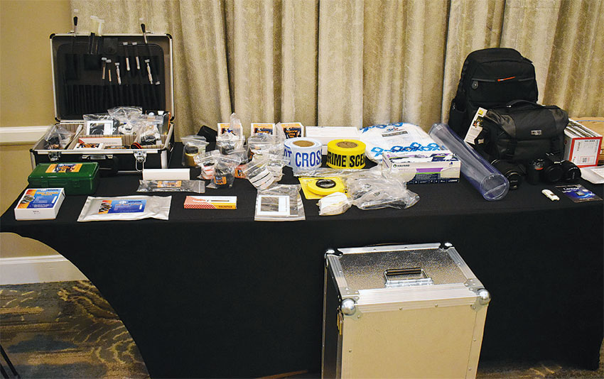 Image of Some of the equipment that was handed over.
