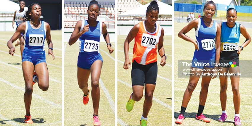 Image: Some of the female athletes that will be on show at the semifinal on Wednesday 18th March at the DSCG. (PHOTO: Anthony De Beauville)