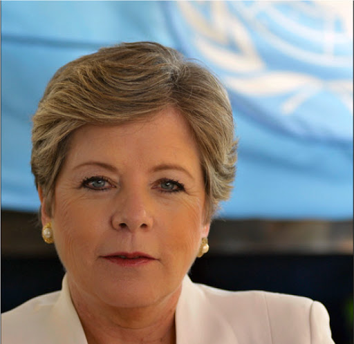 Image of Alicia Bárcena, Executive Secretary of the Economic Commission for Latin America and the Caribbean (ECLAC)