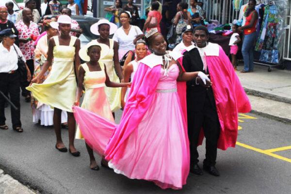 Image: Flower Festival, Saint Lucia.