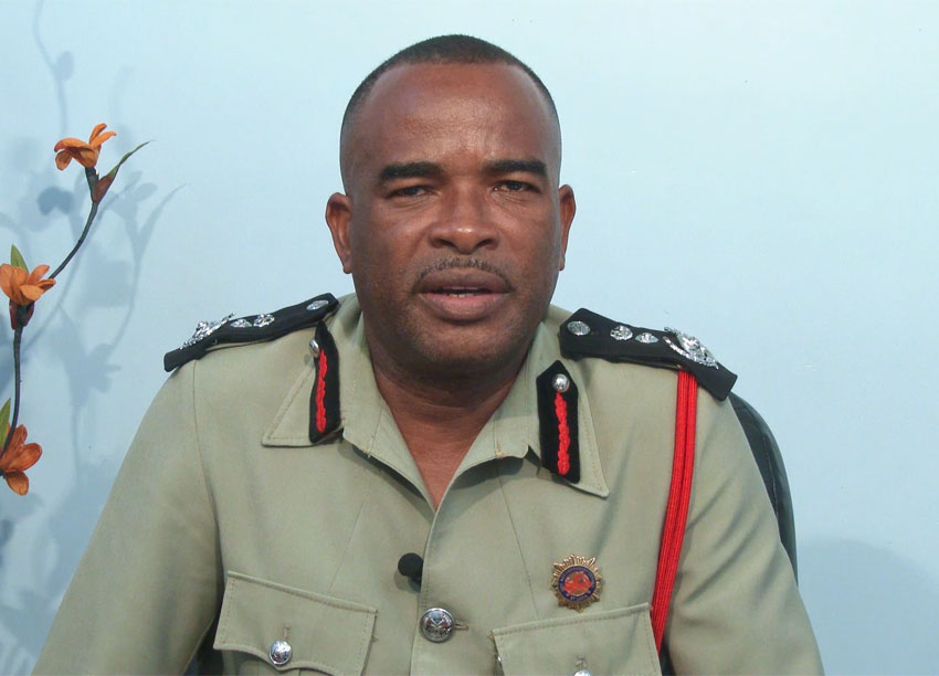Image of Chief Fire Officer Mr. Joseph Joseph