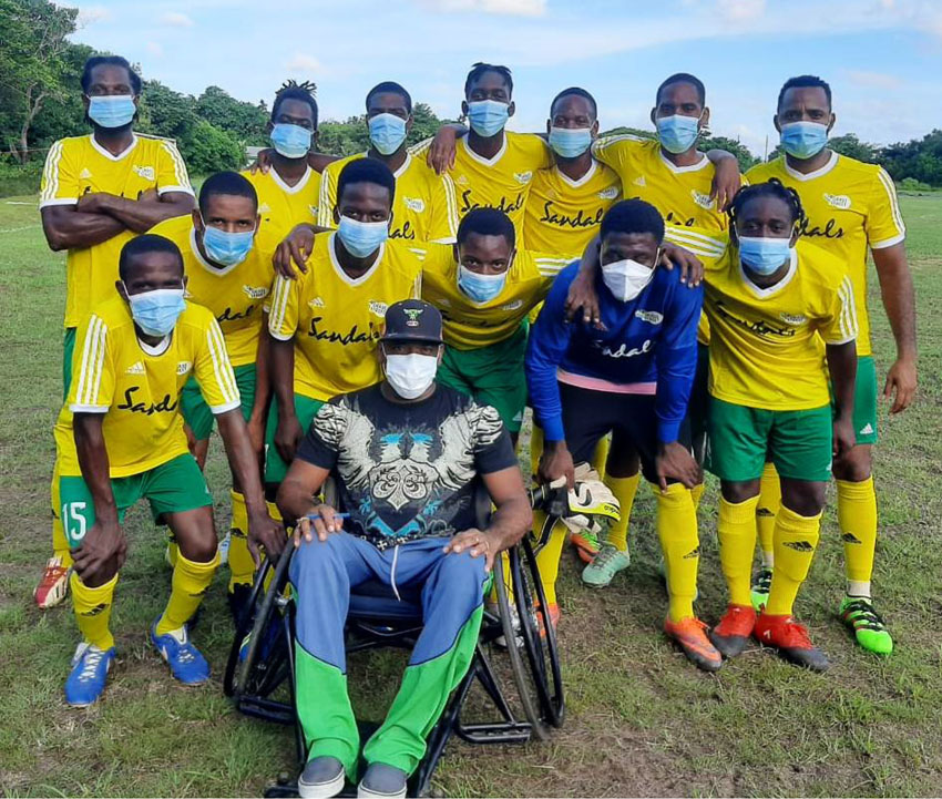 Image: Grass Street FC will play their second game of the tournament on Monday versus Praslin Bay. (Photo: ZG)