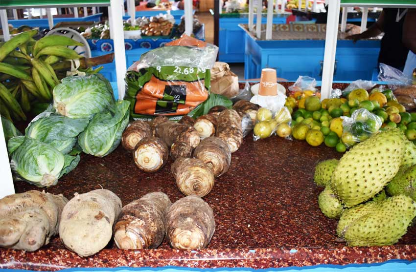 Image of locally grown nutritious foods. PHOTOS BY: Anthony De Beauville