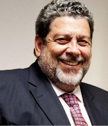 Image of Prime Minister Dr. Ralph Gonsalves