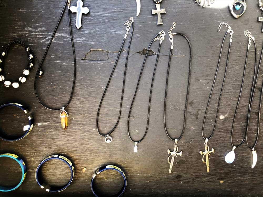 Image of Ricky Desir's jewellery