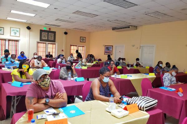 Image: Replast volunteers in training.