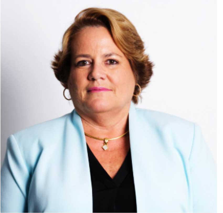 Image of Ms. Janet Hislop, president of Cayman National
